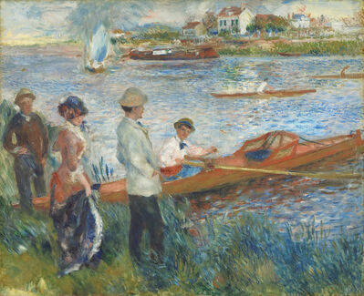 Pierre-Auguste Renoir, 'Oarsmen at Chatou', 1879
