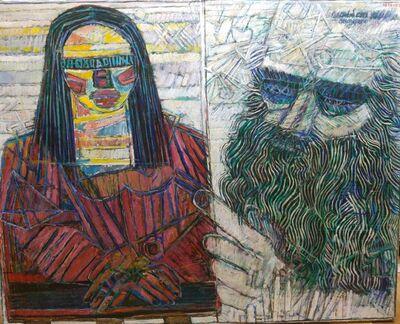 Moshe Tamir, 'Leonard de Vinci', 1991