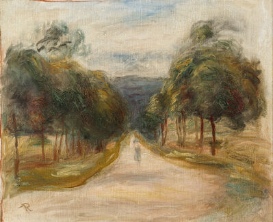 Pierre-Auguste Renoir, 'La Route Bordée d'Arbres (The Treelined Road)', ca. 1885