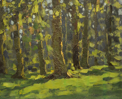 Vasily Leontevich Martynov, 'In the forest', 1971
