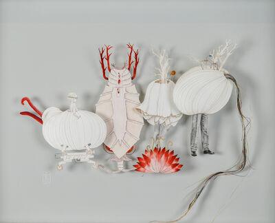 Teresa Currea, 'Red Flower', 2017