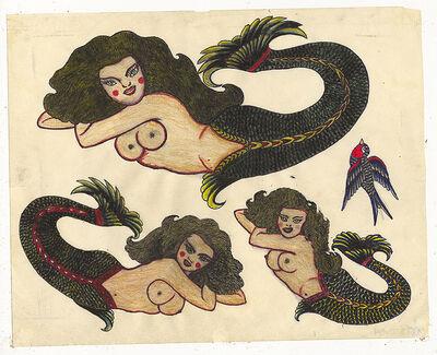 Rosie Camanga, 'Untitled (Three Mermaids)', 1950