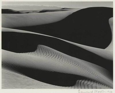 Edward Weston, 'Dunes at Oceano, California', 1936
