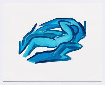 Tom Wesselmann, 'Blue Nude #4', 2001