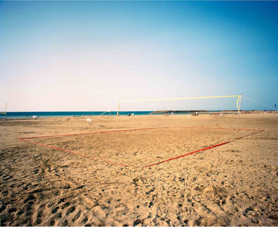 Asaf Kliger, 'Beach volleyball, 1 hour exposure Herziliya Israel', 2008
