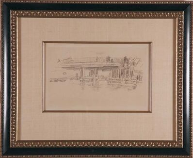 James Abbott McNeill Whistler, 'Old Battersea Bridge', ca. 1879