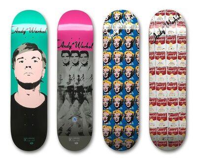 Andy Warhol, 'Set of 4 Skateboard Decks', ca. 2011