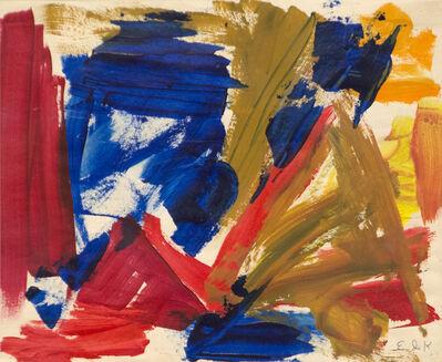 Elaine de Kooning, 'Untitled ', 1968