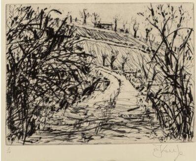 William Kentridge, 'Landscape (Overgrown Road)', 1999