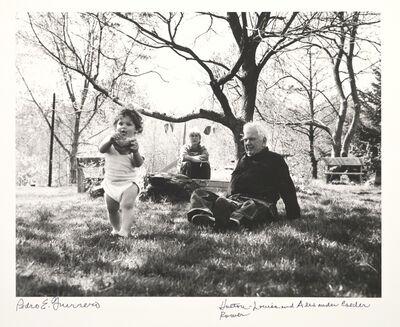 Pedro E. Guerrero, 'Holton Rower, Louisa and Sandy Calder, Rocksbury, CT', 1964