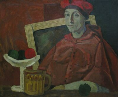 Vadim Semenovich Velichko, 'Joking with Rafael', 1990
