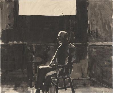 Richard Diebenkorn, 'Man and Window', 1956