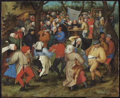 Pieter Bruegel the Younger, 'The Peasants' Wedding', Undated