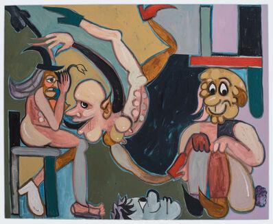 Brian Kokoska, 'The Badboy & The Suckup (Detention Room)', 2018