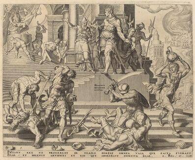Philip Galle, 'Story of Josiah', 1569