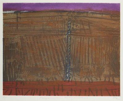 Barbara Rae, 'Ploughmarks - Castelfiorentino', 1995