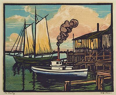 William S. Rice, 'The Blue Tug, California', 1920