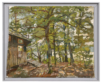 Stanley Lewis, 'Cabin at Lovell Lake', 2017