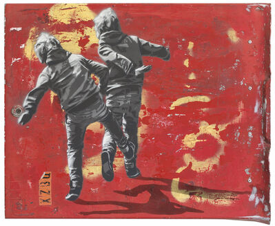 Anders Gjennestad, 'Throwers', 2015