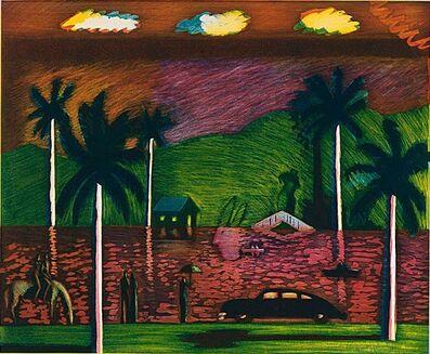 Carlos Almaraz, 'Red Lake', 1986