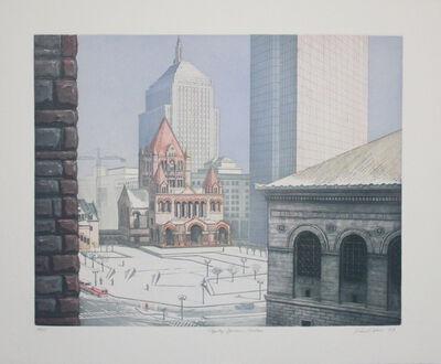 Richard Haas, 'Copley Square, Boston', 1993