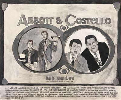 Carlo Daleo, 'Abbott & Costello', 2016