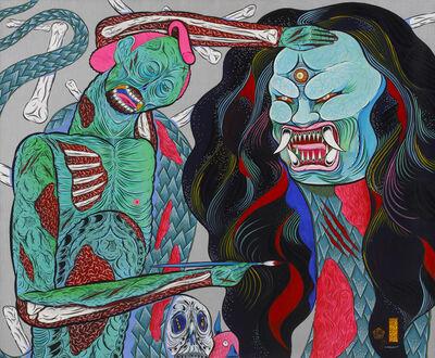 Hideyuki Katsumata, 'Zombie Painter', 2016