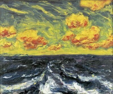 Emil Nolde, 'Herbstmeer XII 'Autumn Sea XII'', 1910