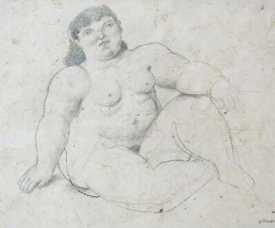 Fernando Botero, 'Naked  Woman', 1980