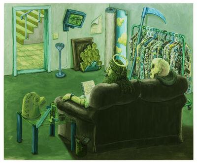 Willem Weismann, 'The green room', 2015