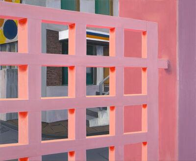 Ingo Baumgarten, 'Pink gate, (HelloKittyCafe, Hongdae,Seoul)]', 2015