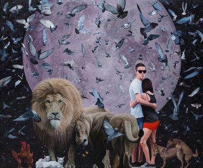 Roman Tolici, 'LOVE', 2018