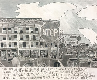 Carlo Daleo, 'The Stop Sign', 2018