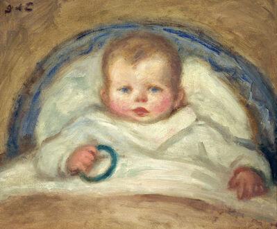 Georges d'Espagnat, 'Enfant dans un berceau (Child in a Crib)', ca. 1905