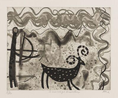 Barbara Rae, 'Anasazi Hunter', 2000