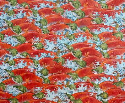 Alain Vaes, 'Run of Salmon'