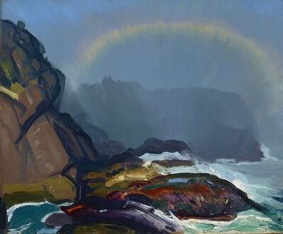 George Wesley Bellows, 'Fog Rainbow', 1913