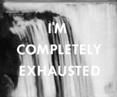 Mishka Henner, 'I'm Completely Exhausted, unknown, + Niagarafalle, 1965 ', 2012