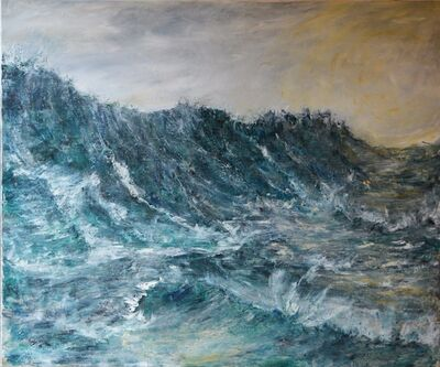 Penny Rumble, 'The Sea Boils', 2016