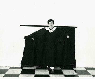 """Martha Araújo, 'Documentação fotográfica da performance """"Hábito/Habitante""""', 1985"""