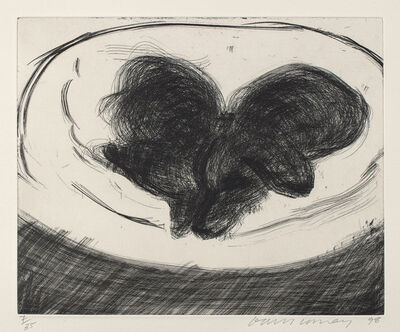 David Hockney, 'Dog Etching No. 1, from Dog Wall', 1998