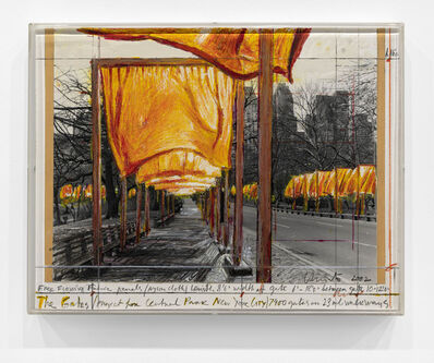 Christo, 'The Gates (Project for Central Park New York City)', 2002