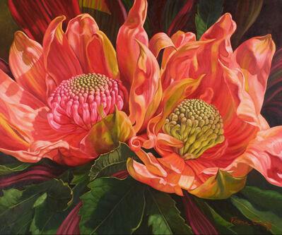 Fiona Craig, 'Sunlit Waratahs', 2014