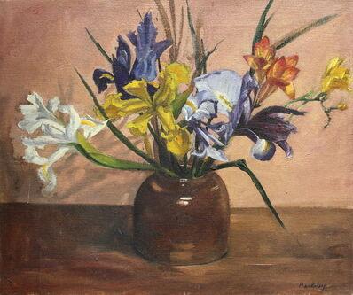 Pamela Berkeley, 'Irises & Freesia   ', 1993
