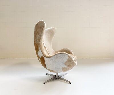 Arne Jacobsen, 'Egg Chair Restored in Brazilian Cowhide', mid 20th century