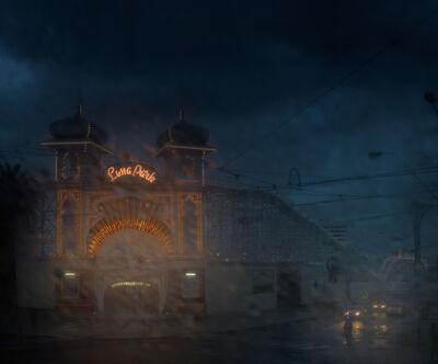 Christopher Rimmer, 'Luna Park 4', 2015