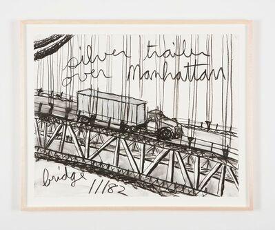 Kate Ericson and Mel Ziegler, 'Untitled (Silver trailer over Manhattan bridge)', 1982