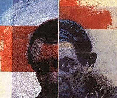 Roger Pfund, 'Pablo Picasso', 1986