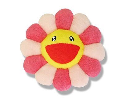 Takashi Murakami, 'FLOWER CUSHION PINK & YELLOW'