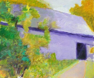 Wolf Kahn, 'Barn and Driveway', 2012